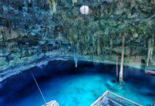 die wunderschönen Cenoten von Santa Barbara auf Yucatan in der Nähe von Cuzama bzw. Homun
