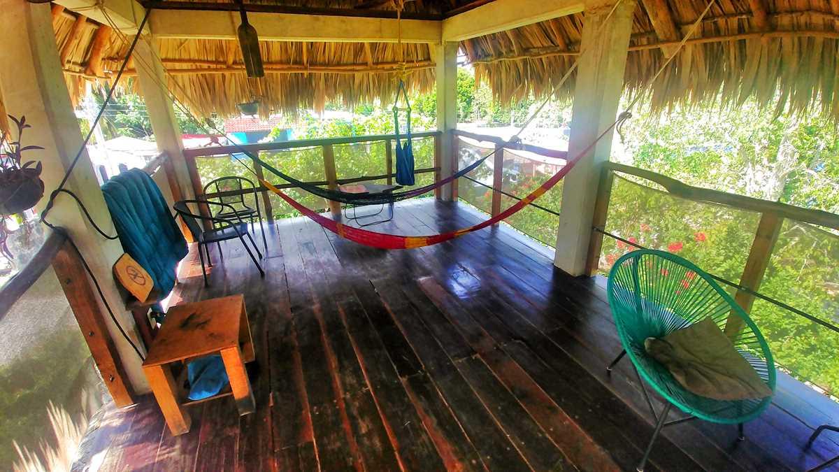 Das Guarumbo in Bacalar, ein nachhaltiges Hostel in Yucatan