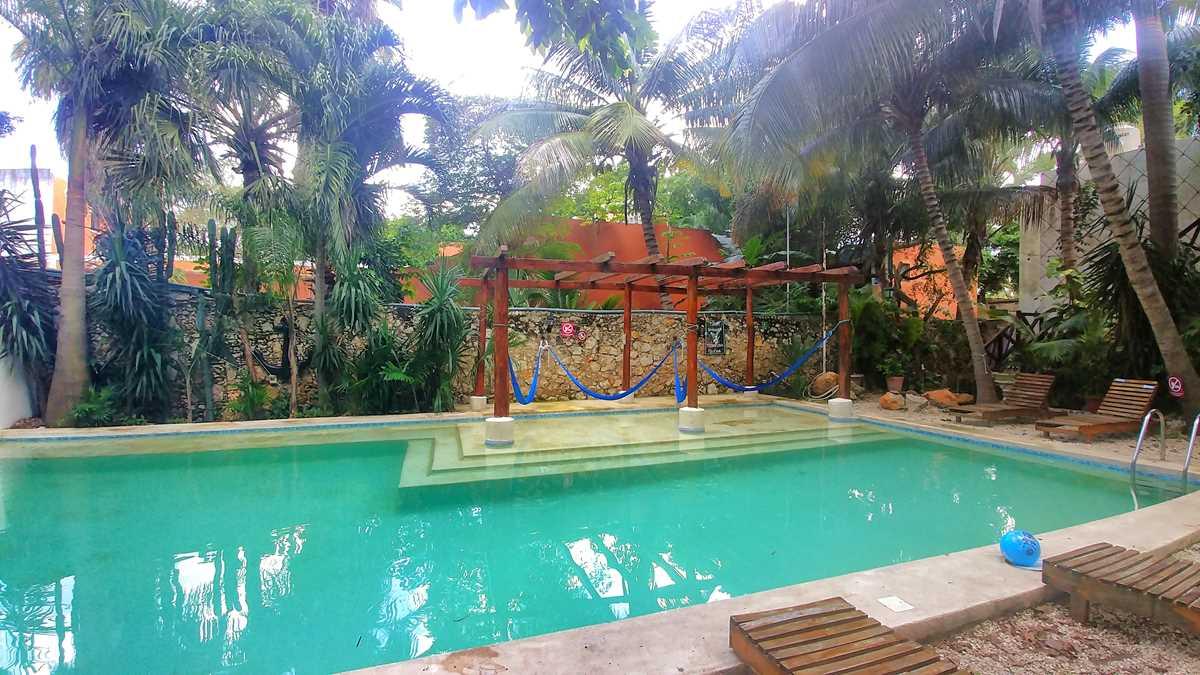 Das Nomadas Ecohostel in Merida, eines der besten Hostels in Yucatan