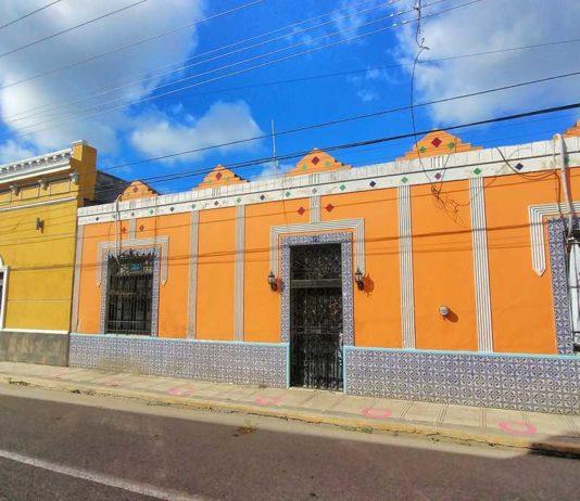 Die wunderschöne Altstadtvon Yucatán mit ihren bunten Häusern