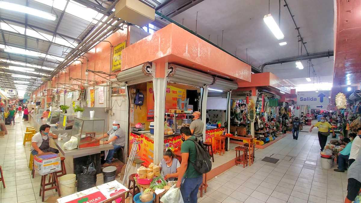 Der zentrale Markt San Benito inMérida