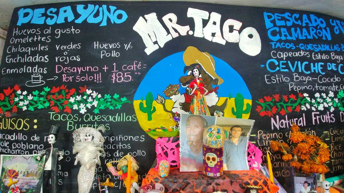 Mr. Taco, eines der besten und günstigsten Restaurants in Bacalar