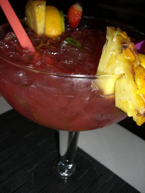 Fish Bowl - das vielleicht berühmteste Getränk in Miami Beach