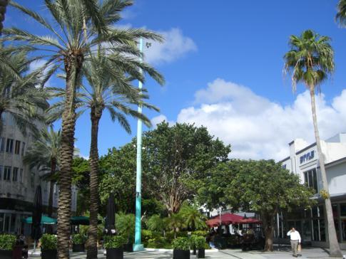 Die Lincoln Mall in Miami Beach