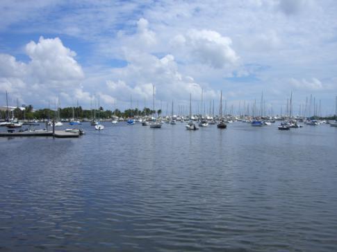 Coconut Grove im Süden von Miami