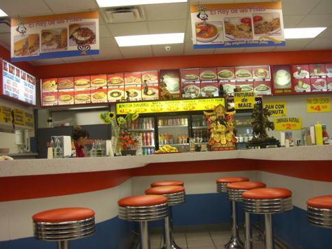 Spanischer Diner im Stadtteil Little Havanna