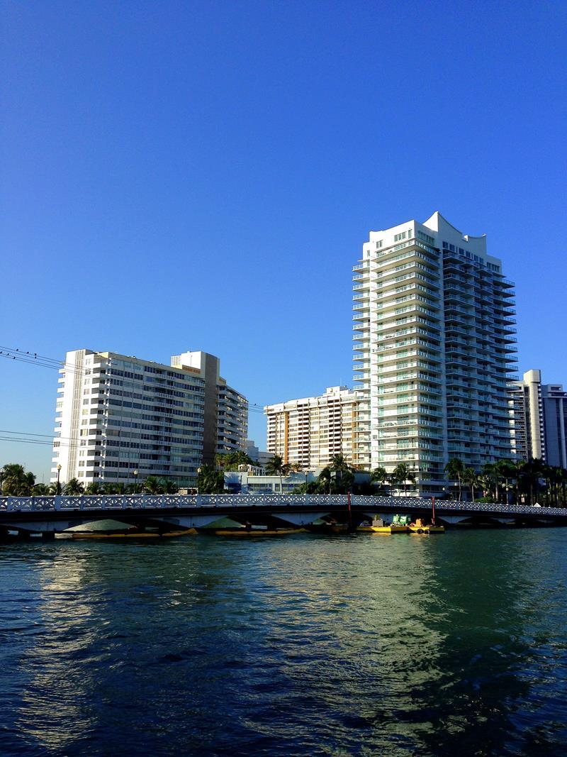 Eine Jogging-Runde durch Miami Beach