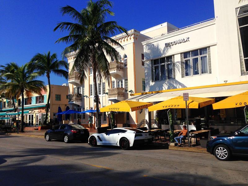 Das Art-Deco-Viertel von Miami Beach