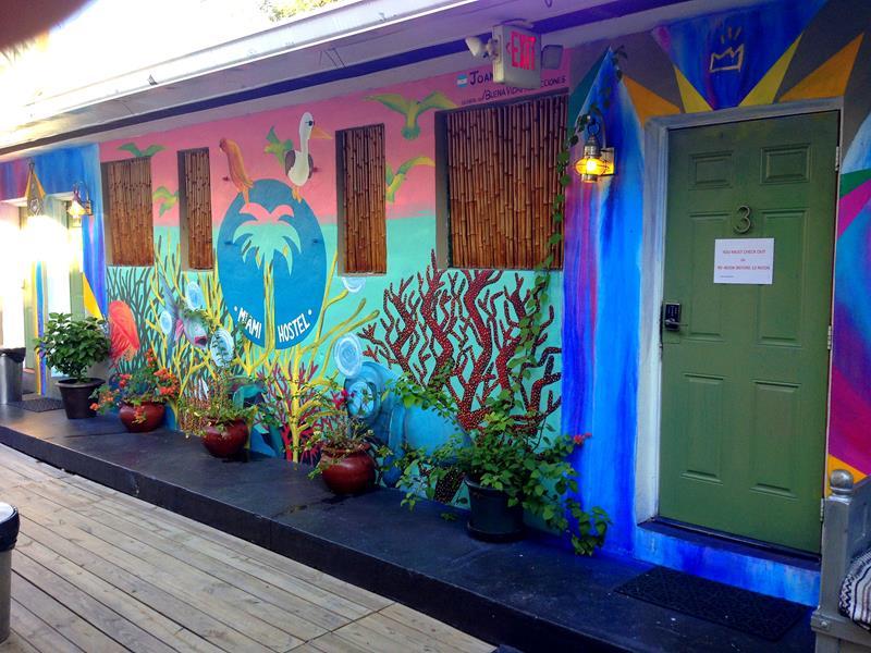 Das Miami Hostel in Miami Beach, nur wenige Minuten vom Ocean Drive entfernt