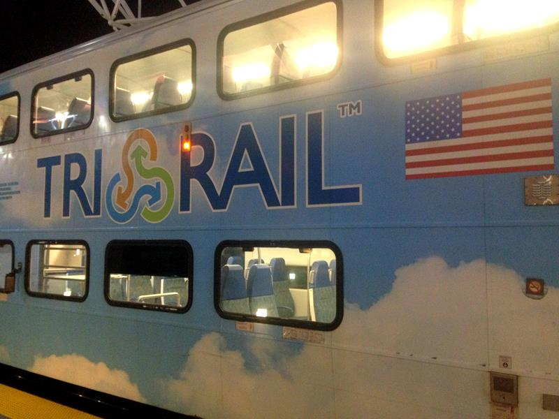 Tri-Rail von Miami Airport nach Fort Lauderdale Airport