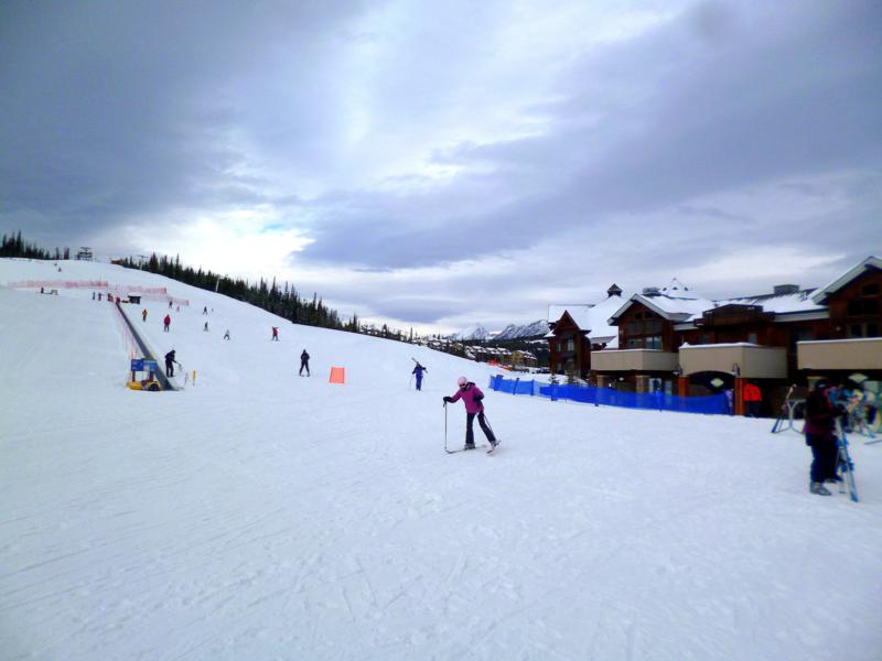 Das Base Camp im Big Sky Mountain Resort in Montana