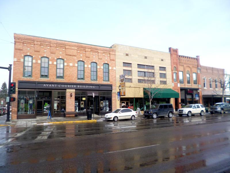 Die historische Altstadt von Bozeman in Montana