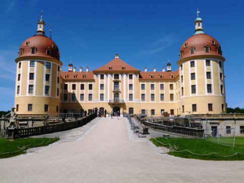 Schloss Moritzburg in der Nähe von Dresden