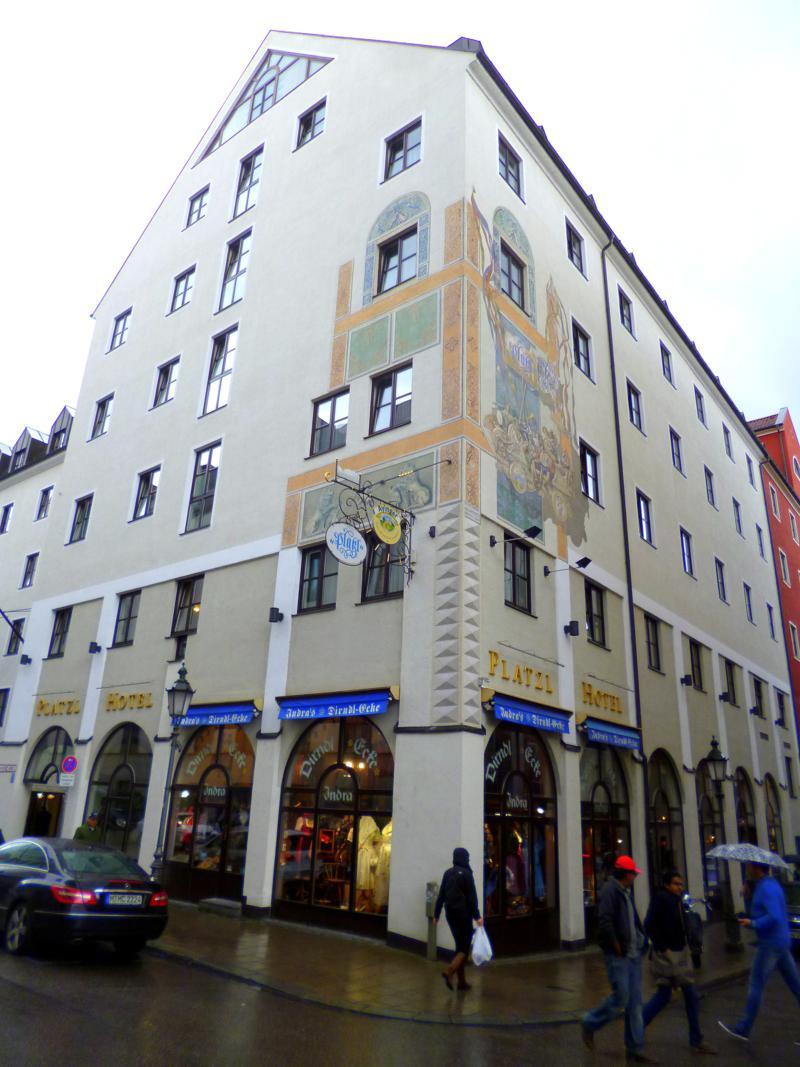 Das Hotel Platzl mitten im Zentrum von München