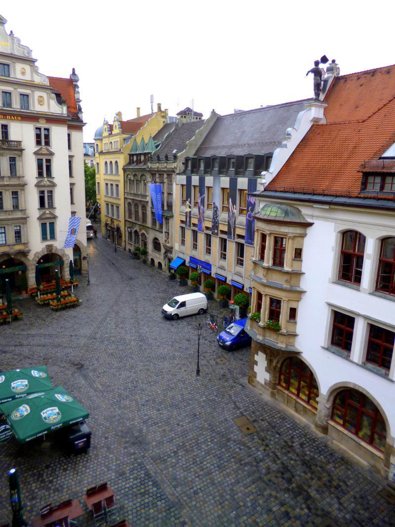 Platzl, einer von Münchens bekanntesten Plätzen