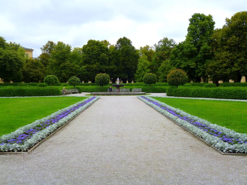 Der Hofegarten in München