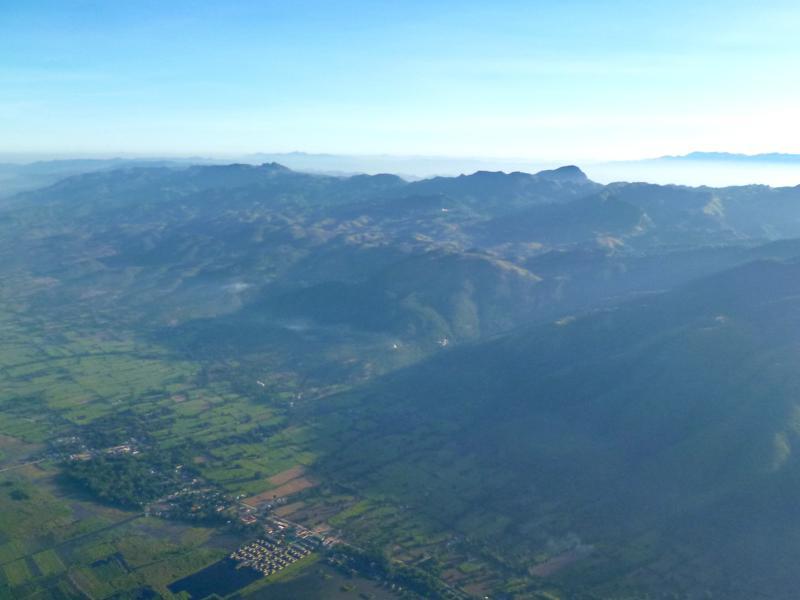 Der Inle Lake und die Berge - aus dieser Perspektive nur mit Oriental Ballooning erlebbar