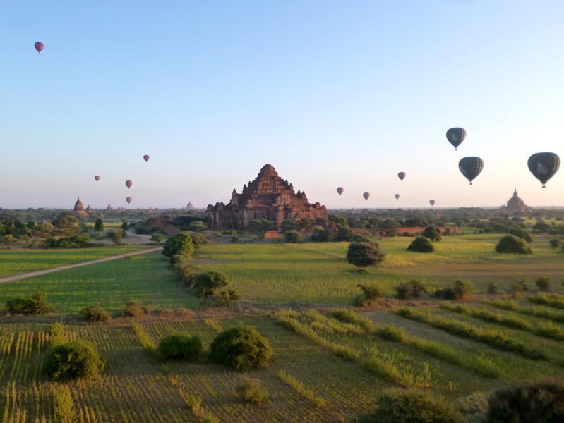 Bagan, eine beeindruckende Tempelanlage in Myanmar