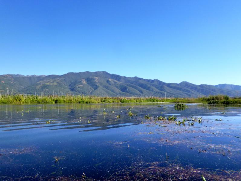 Der Inle Lake, eine der beliebtesten Sehenswürdigkeiten in Myanmar