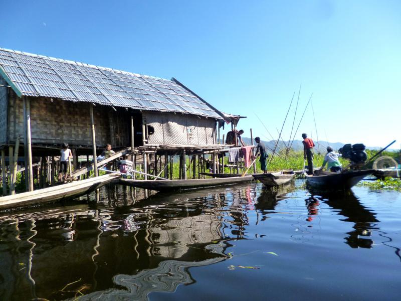 Eine Bootstour auf dem Inle Lake ist ein Must-Do hier in Myanmar