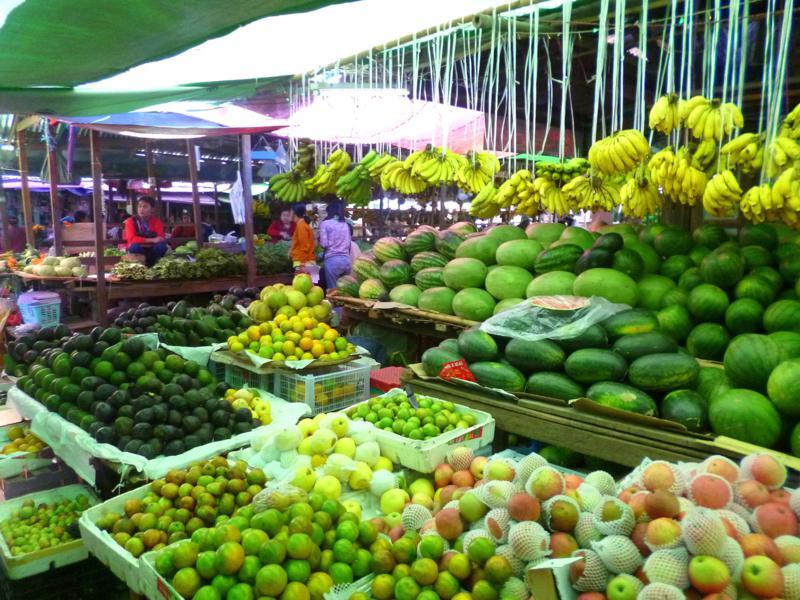 Der lebendige Markt von Nyaung Shwe