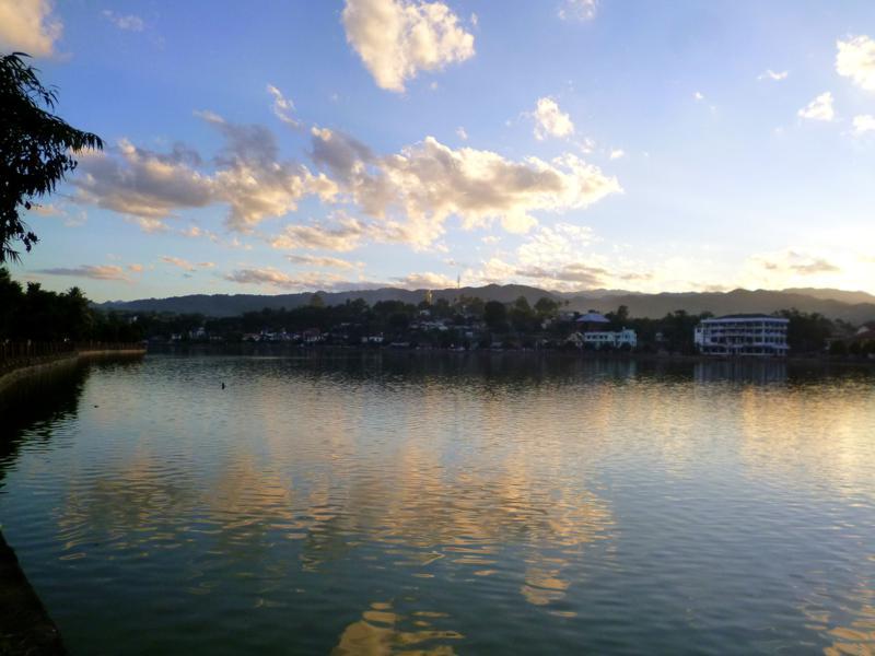 Der See Naung Tung in Kengtung im Osten von Myanmar