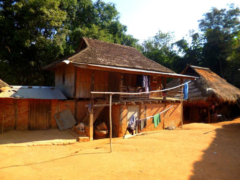 Hill-Tribe-Trekking in der Umgebung Kengtung im Osten von Myanmar