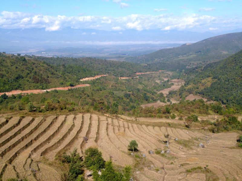 Beeindruckende Kulisse in Myanmar