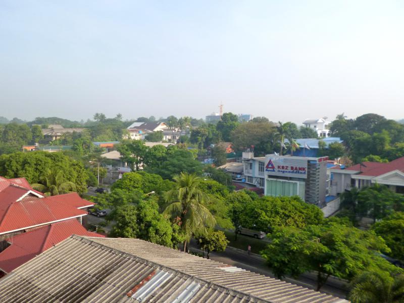 Das Humble Footprints Hotel and Hostel in Yangon, der größten Stadt von Myanmar
