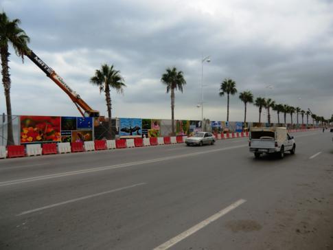 Der Boulevard de la Corniche in Nador
