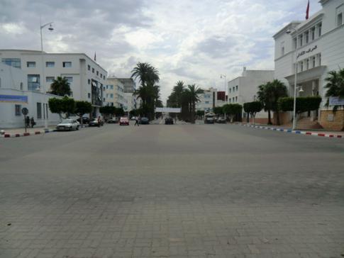 Wie in jeder Stadt in Marokko: eine Straße mit den Namen Mohammed