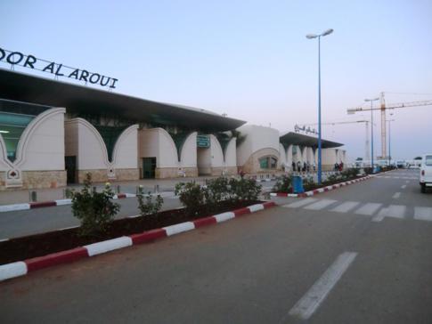 Der Flughafen von Nador: der Airport Al Aroui