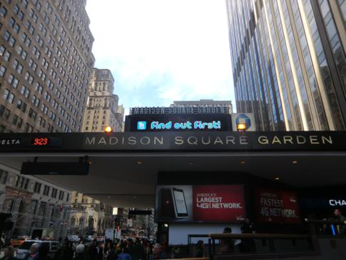 Die Penn Station, einer der großen Bahnhöfe in New York und Manhattan