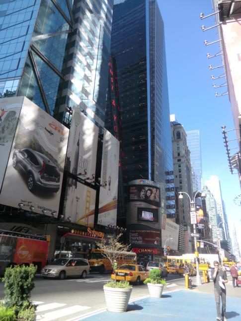 Der Broadway, New Yorks vielleicht berühmteste Straße
