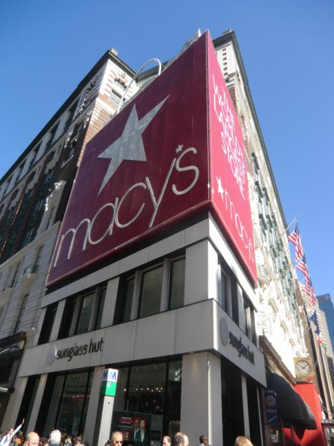 Macys Shopping Center am Broadway