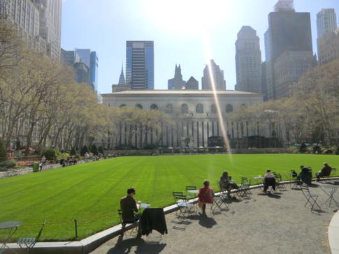 Der Bryant Park im Herzen von Manhattan