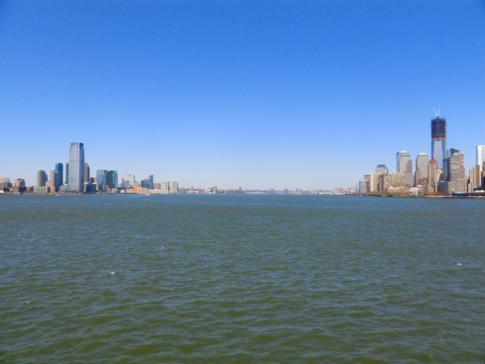 Die Skyline von Manhattan und New Jersey - eine tolle Aussicht von der Staten Island Ferry