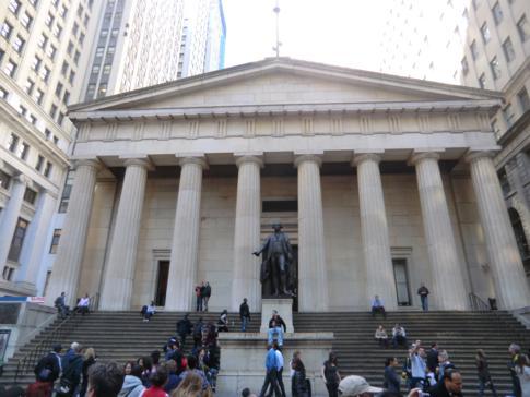 Die Wall Street, Zentrum des weltweiten Finanzsektors
