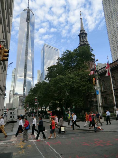 Reisebericht New York II: 12 Stunden mit Ground Zero, Bleeker Street und High Line Park
