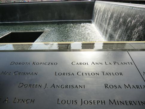 Die 09-11-Gedenkstätte: das Memorial am Ground Zero, dem ehemaligen World Trade Center