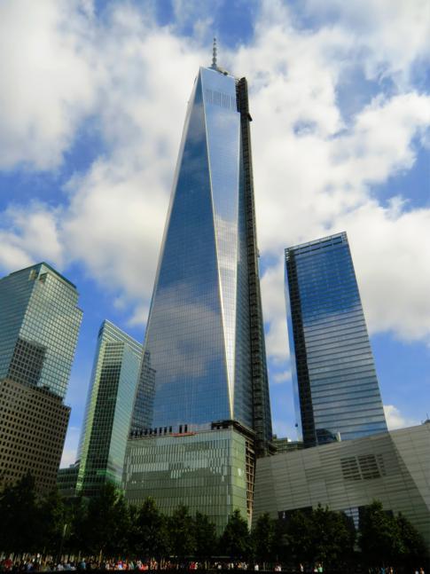 Eines der neuen World Trade Center - höchstes Gebäude der USA