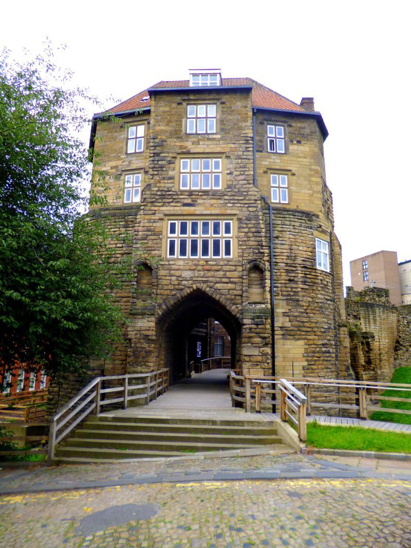 Das ursprüngliche Newcastle, wo die Stadt ihren Namen her hat