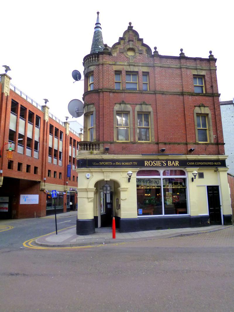 Ein typischer Pub in Großbritannien