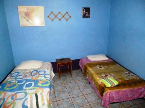 Mein Einzelzimmer im Nicaragua Guest House in Managua
