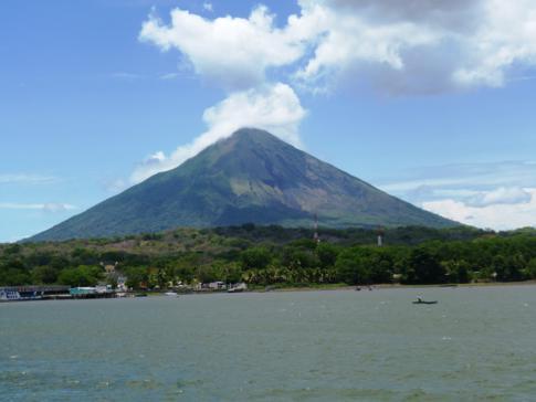 Der auf der Isla de Ometepe alles bestimmende Vulcan Concepcion
