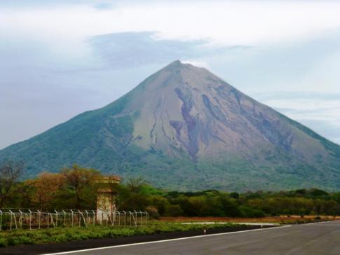 Der Concepcion, der höchste Berg und Vulkan auf der Isla de Ometepe