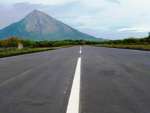 Ein neuer Flughafen entsteht: der Ometepe Island Airport in Nicaragua