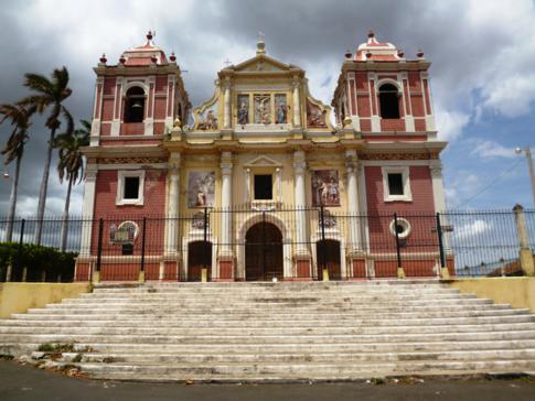 Die Calvario Kirche in León