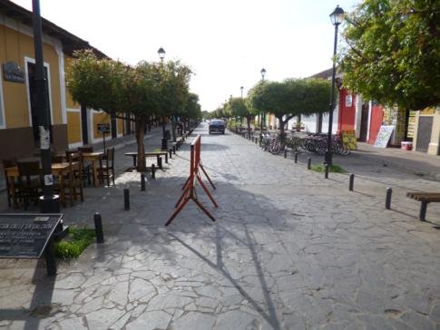 Die Calle Calzada von Granada