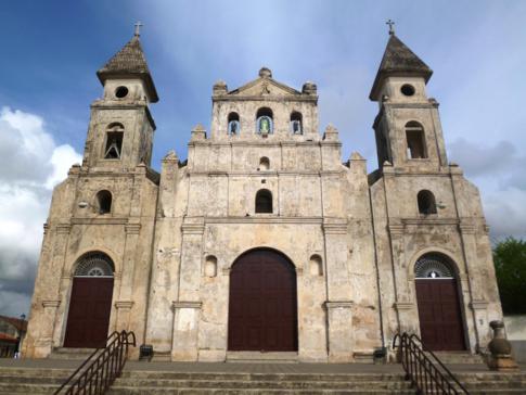 Die Kirche Guadeloupe in der Altstadt von Granada, Nicaragua
